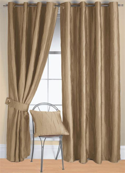 linen jazz ready made eyelet curtain free uk delivery