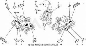 Honda H1011h Sac Riding Mower  Usa  Vin  Mzaw