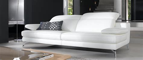 canapé blanc en cuir canape cuir center blanc noel 2017