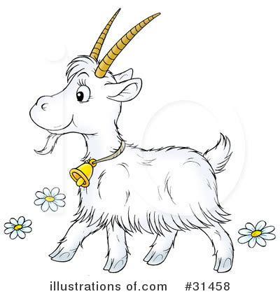 Cute Goat Clip Art
