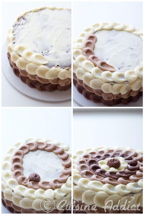 tuto cuisine tuto décoration de gâteau petal cake ou gâteau pétales