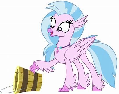 Silverstream Hippogriff Derpibooru Bucket Pony Mlp Animated