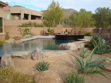 Little Rock Furniture by Boxhill Design Pools Southwestern Pool Phoenix By