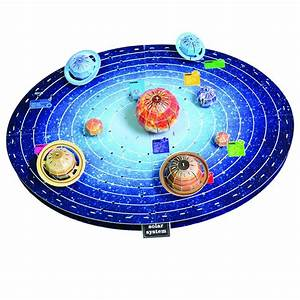 Children toy gift Paper 3D Puzzle Model Solar System paper ...