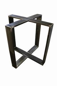 Tischgestell Metall Nach Mass : design tischgestell stahl untergestell metall stahl moor ~ Markanthonyermac.com Haus und Dekorationen