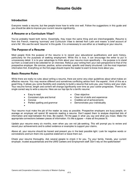 exles of resumes 23 cover letter template for exle
