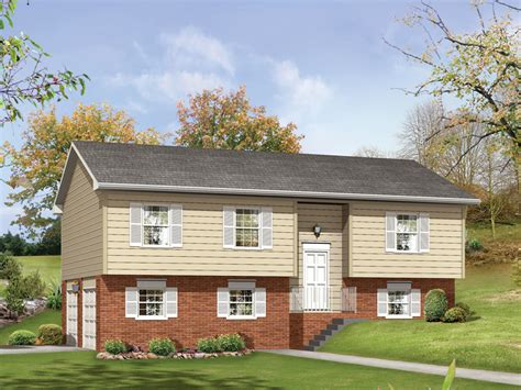 Woodland Ii Split-level Home Plan 001d-0058
