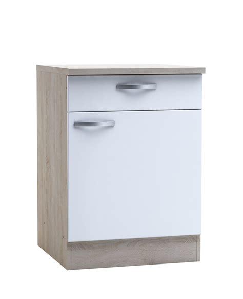 meuble bas cuisine castorama meuble tiroir cuisine