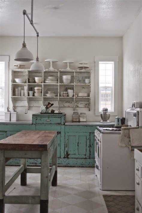 ideas  decorar una cocina al estilo vintage verte
