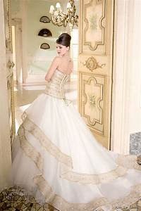 white wedding dress with gold accents dress ideas With white wedding dress with gold accents