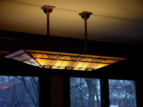 frank lloyd wright glass lighting fixtures