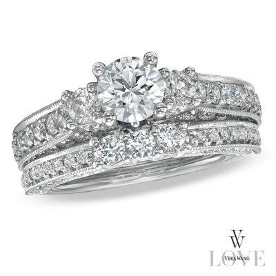 vera wang wedding ring sets vera wang bridal ring sets