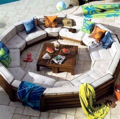 cool outdoor tables 20 cool modern garden furniture mounted designs for terrace and balcony interior design ideas