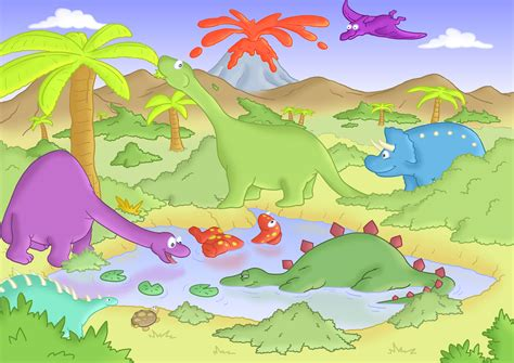 Bedroom Wallpaper Ideas Uk by Buy Childrens Dinosaur Murals For 163 35 00 Per Sq M2 Kids