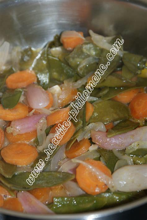 cuisiner mange tout haricots mange tout aux carottes et aux oignons plats