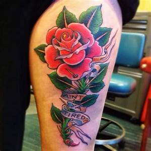 New School Rose Tattoo | www.pixshark.com - Images ...