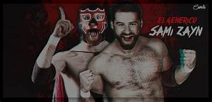 Signature WWE Superstar Sami Zayn with/El Generico by ...