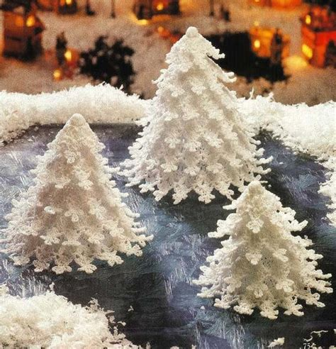 crocheted christmas tree pattern crochet for beginners