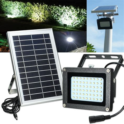 solar powered led security lights solar powered 54 led waterproof outdoor security panel