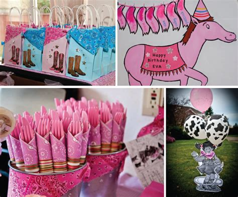 Country Themed Baby Shower by Giddy Up With Little Cowgirl Birthday Party Supplies Big