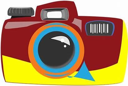 Camera Clip Clipart Clker Vector Royalty