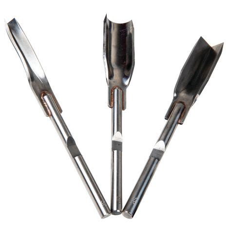 piece woodcarvers chisel set  arbortech power chisel