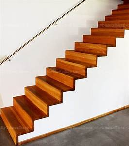 Marche Bois Escalier : habillage de marches sur escalier b ton art escaliers ~ Voncanada.com Idées de Décoration