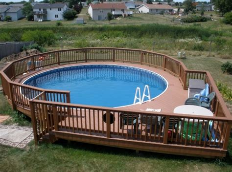 pool deck designs pictures 40 uniquely awesome above ground pools with decks