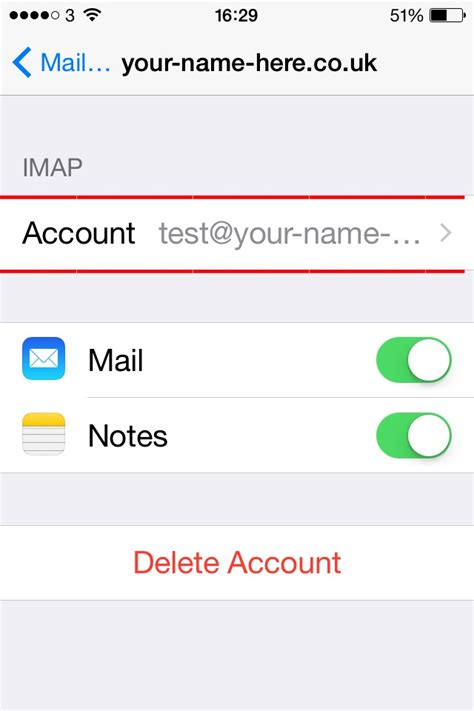 iphone email problems problems when setting up email account on iphone ynh ltd