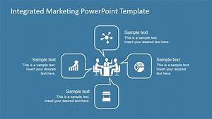 Integrated marketing process diagram for powerpoint for Integrated marketing communications plan template