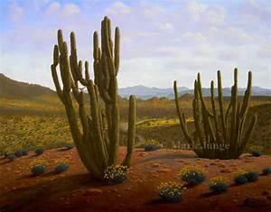 Bunny Tales: Desert Paintings I - Organ Pipe Cactus ...