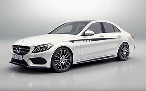 Mercedes Classe C Blanche : mercedes classe c accessori amg video ~ Gottalentnigeria.com Avis de Voitures