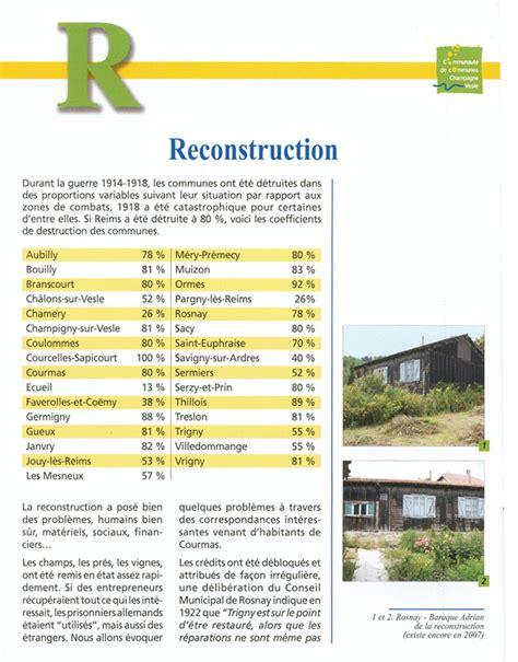 chambre d agriculture 14 reconstruction après la guerre 14 18