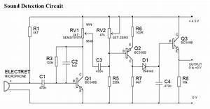 Sound Detection Circuit Diagram
