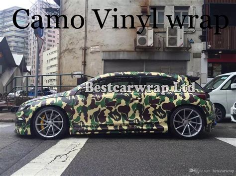 2019 large camo vinyl car wrapping camouflage foil stickers with camo truck covering