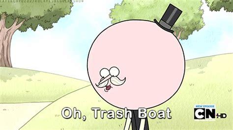 Regular Show Trash Boat Watchcartoononline by Mordecai The Rigbys