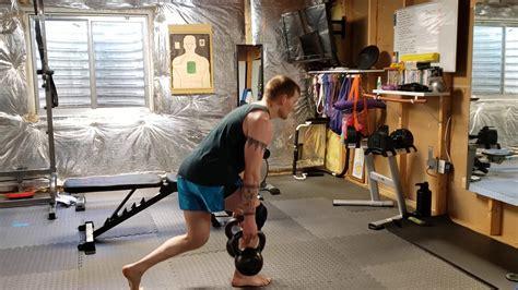 body kettlebell lower workout