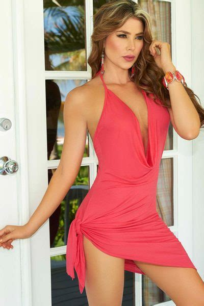 flirty ties sexy halter dress wishescom