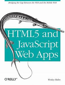 Html5 And Javascript Web Apps  Ebook