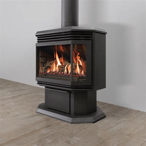 free standing gas fireplace promotions the original