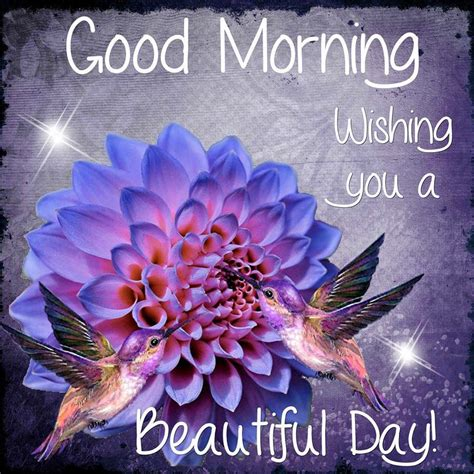 Good Morning Wishing You A Beautiful Day Spring Quote