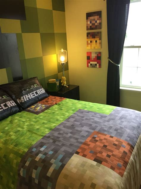 Minecraft Bedroom Pictures by 25 Best Boys Minecraft Bedroom Ideas On