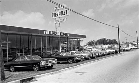 Car Dealer Phelps Chevrolet 1965  See The Usa In Your
