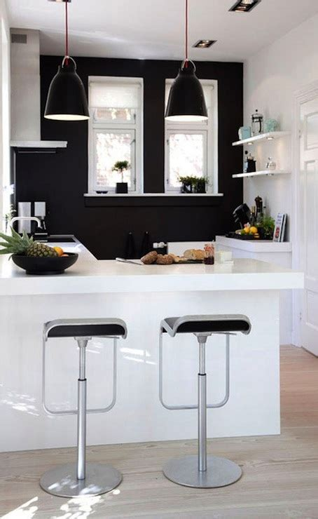 black  white kitchen modern kitchen heidi lundsgaard
