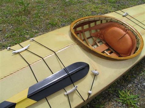 cedar strip kayak building deck rigging the dash point