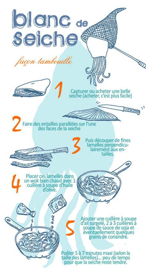 cuisiner les blancs de seiche blanc de seiche façon tambouille découvrez les astuces