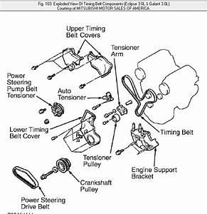 2003 Mitsubishi Galant Timing Belt Diagram  U2022 Downloaddescargar Com