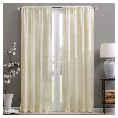 target sheer curtains clarissa sheer curtain panel white 50 quot x84