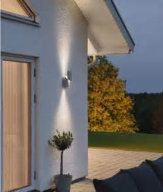 high powered led exterior up down wall light beleuchtung