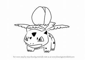 Learn How to Draw Ivysaur from Pokemon GO (Pokemon GO ...